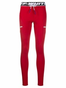 Off-White Active performance leggings - Red