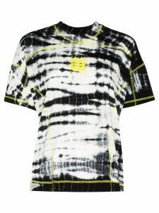 Daily Paper Henori tie-dye T-shirt - Black