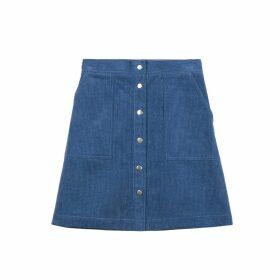 Elianore Short Cotton Skirt