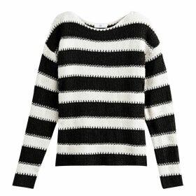 Chunky Knit Striped Breton Jumper