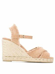 Castañer Bromelia wedge sandals - NEUTRALS