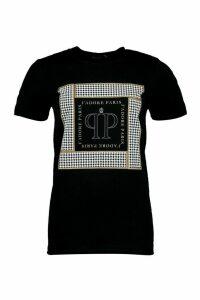 Womens J'Adore Printed T-Shirt - Black - M, Black