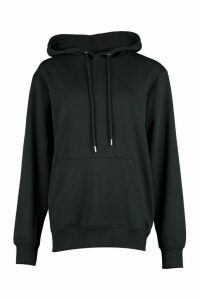 Womens Woman Script Back Print Hoody - Black - 16, Black