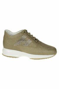 Hogan Interactive Glittery Sneakers