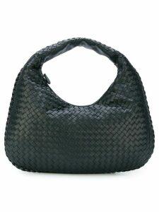 Bottega Veneta nero Intrecciato nappa medium veneta bag - Black