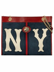 Gucci Large tote with NY Yankees™ patch - Blue