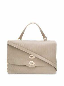 Zanellato quilted tote bag - NEUTRALS