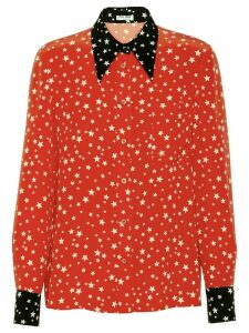 Miu Miu star-print shirt - Red