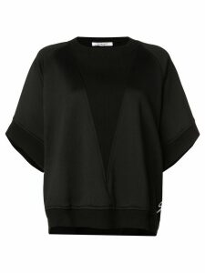 Givenchy oversized asymmetric sweatshirt - Black