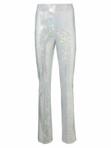 Saks Potts fluorescent trousers - SILVER