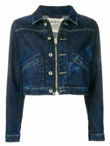 Diesel cropped denim jacket - Blue