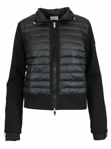 Moncler Cotton And Down Sweatshirt