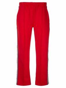 Être Cécile retro track trousers - Red