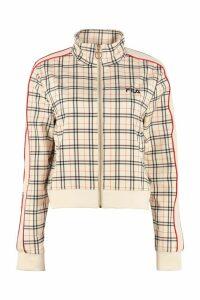 Fila Printed Zippered Sweatshirt