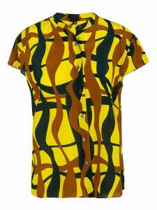 Aspesi Abstract Print Shirt