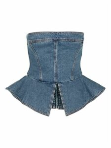 Philosophy Denim Bustier Top