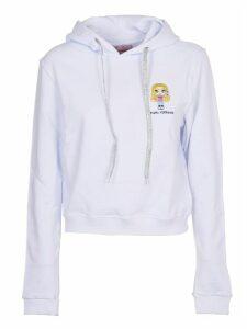 Chiara Ferragni Cfmascotte White Sweatshirt