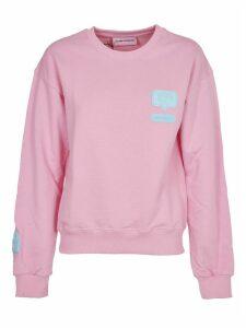 Chiara Ferragni Pink eeyelike Sweatshirt