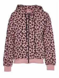 Chiara Ferragni Pink Leopard Hoodie