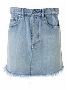 Miu Miu Iconic Denim Skirt