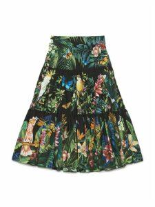 Dolce & Gabbana jungle 2 Skirt