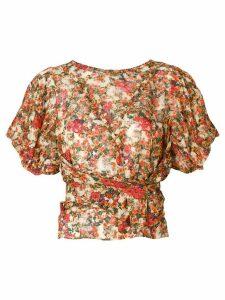 Isabel Marant floral print blouse - Multicolour