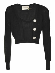 Giuseppe di Morabito Layered Cropped Cardigan