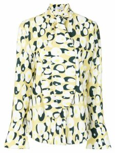 Ioana Ciolacu blouse with egg design - Multicolour