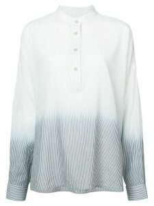 Elizabeth and James gradient button down collar shirt - White