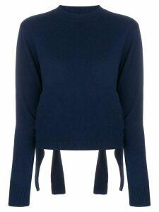 Cashmere In Love Stella cropped jumper - Blue