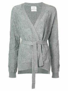 Barrie Beehive cashmere cardigan - Grey