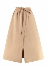 Givenchy Taffetta Midi Skirt