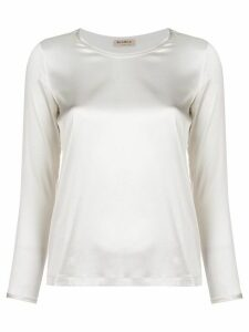 Blanca Vita round neck blouse - White