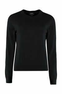 A.P.C. Juliette Cotton-cashmere Blend Pullover
