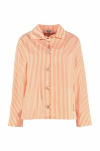 Kenzo Striped Cotton Shirt