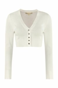 MICHAEL Michael Kors Cropped-length Knitted Cardigan