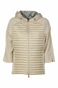 Save the Duck Front Padded Effect Zipped Jacket