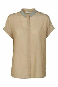 Fabiana Filippi Short-sleeve Concealed Shirt
