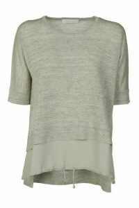 Fabiana Filippi Double-layered Effect Top