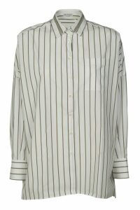 Brunello Cucinelli Stripe Print Shirt