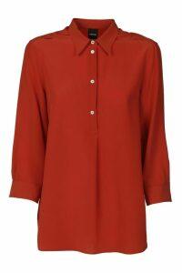 Aspesi Half-buttoned Shirt