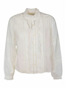 Isabel Marant Ruffled Collar Blouse