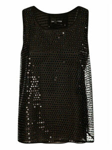 Emporio Armani Sequin-embellished Tank Top