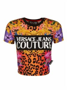 Versace Jeans Couture Couture Chest Print Top
