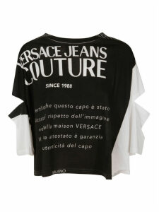 Versace Jeans Couture Cotton Mark Top