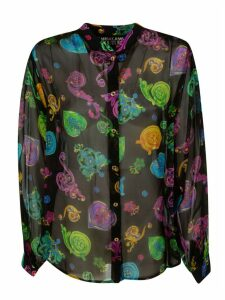 Versace Jeans Couture Gioielle Chiffon Shirt