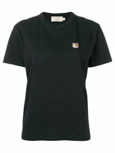 Maison Kitsuné Fox patch T-shirt - Black