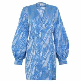 Ganni Jacquard Dress