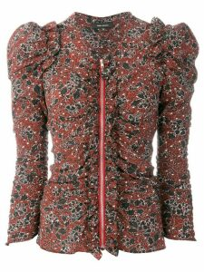 Isabel Marant zipped Bali shirt - Red