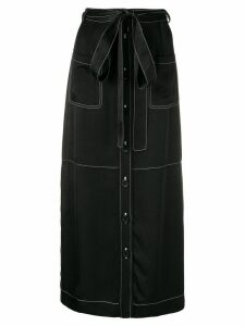 See by Chloé button up skirt - Black